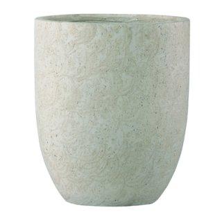 フォリオ アルトエッグ 31 x H 36.5 cm / 軽量 コンクリート / 植木 鉢 プランター 【 クリーム 】 / 送料無料