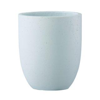 フォリオ アルトエッグ 31 x H 36.5 cm / 軽量 コンクリート / 植木 鉢 プランター 【 ホワイト 】 / 送料無料