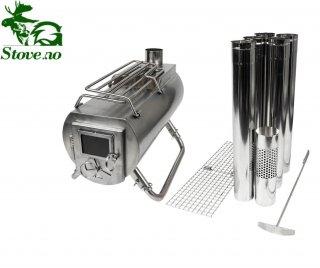 Gstove Heat View XL / ジーストーブ / アウトドア 薪 ストーブ  / 送料無料 / サービス:延長煙突 1本 付