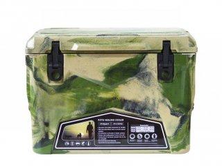 クーラーボックス アイスランド 35QT / グリーンカモ / 33.1L / 付属品 3点 付 / 送料無料