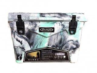 クーラーボックス アイスランド 35QT / シーフォームグリーン & ホワイトカモ / 33.1L / 付属品 3点 付 / 送料無料