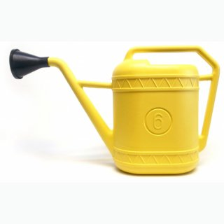 イタリア製 じょうろ 6L  / イエロー | Watering Can ウォータリングカン
