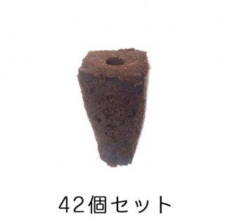種まき ポット / スポンジ / 育苗 / 有機 オーガニック 培地 / 42個セット