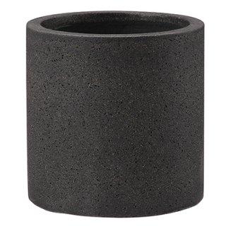コーディル シリンダー 39 cm / コンクリート / 植木 鉢 プランター 【 ブラック 】