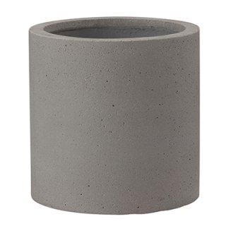 コーディル シリンダー 39 cm / コンクリート / 植木 鉢 プランター 【 グレー 】