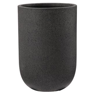 コーディル ミドル 34 cm / コンクリート / 植木 鉢 プランター 【 ブラック 】