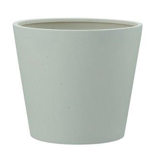 ポリッシュ コニック 40 cm / 軽量 / 植木 鉢 プランター 【 クリーム 】