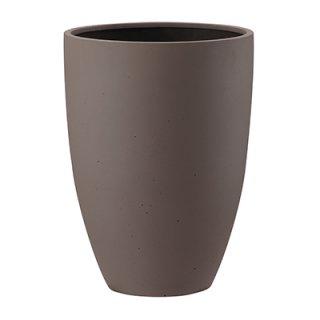 ポリッシュ トール 40 cm / 軽量 / 植木 鉢 プランター 【 ブラウン 】