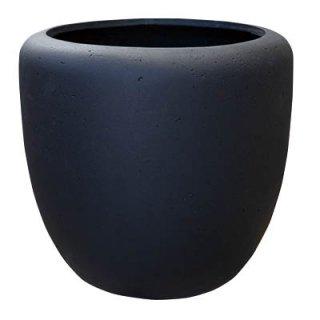 カンサラ 32 cm / 軽量 / 植木 鉢 プランター 【 ブラック 】