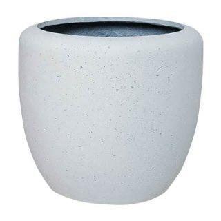 カンサラ 32 cm / 軽量 / 植木 鉢 プランター 【 ホワイト 】
