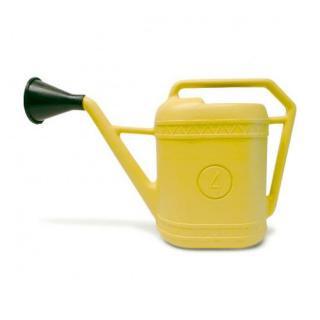 イタリア製 じょうろ 4L  / イエロー / ブルー | Watering Can ウォータリングカン