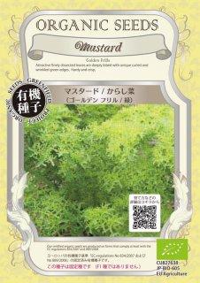マスタード / からし菜 緑 / 有機 種子 固定種 / グリーンフィールド / 葉菜 [小袋]