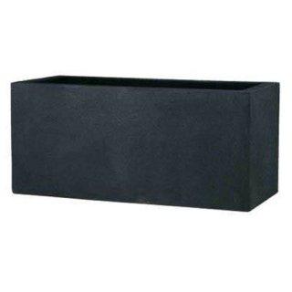 BL キンロス L 100 cm / ブラック アイロンライト / 軽量 / 植木 鉢 プランター / 送料無料