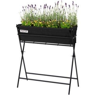 ベジトラグ 栽培 セット / ひざを曲げずに作業できる / 土が流失しないのでベランダやテラスに最適