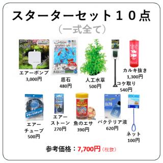 スターター セット 10点 ( 一式全て ) / 送料無料