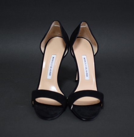 <img class='new_mark_img1' src='https://img.shop-pro.jp/img/new/icons50.gif' style='border:none;display:inline;margin:0px;padding:0px;width:auto;' />MANOLO BLAHNIK SUEDE SANDAL
