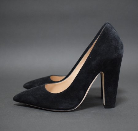 <img class='new_mark_img1' src='https://img.shop-pro.jp/img/new/icons50.gif' style='border:none;display:inline;margin:0px;padding:0px;width:auto;' />MANOLO BLAHNIK SUEDE POINTED PUMPUS