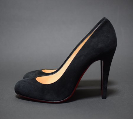 <img class='new_mark_img1' src='//img.shop-pro.jp/img/new/icons50.gif' style='border:none;display:inline;margin:0px;padding:0px;width:auto;' />CHRISTIAN LOUBOUTIN ROUND TOE PUMPUS RON RON