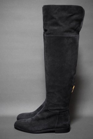 <img class='new_mark_img1' src='https://img.shop-pro.jp/img/new/icons50.gif' style='border:none;display:inline;margin:0px;padding:0px;width:auto;' />SERGIO ROSSI FLAT KNEE HIGH BOOTS