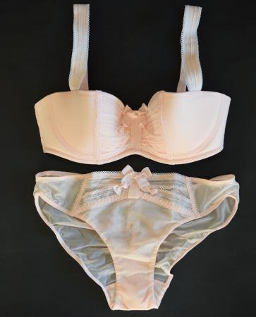 <img class='new_mark_img1' src='//img.shop-pro.jp/img/new/icons50.gif' style='border:none;display:inline;margin:0px;padding:0px;width:auto;' />CHANTAL THOMASS BRA&SHORTS BABY PINK