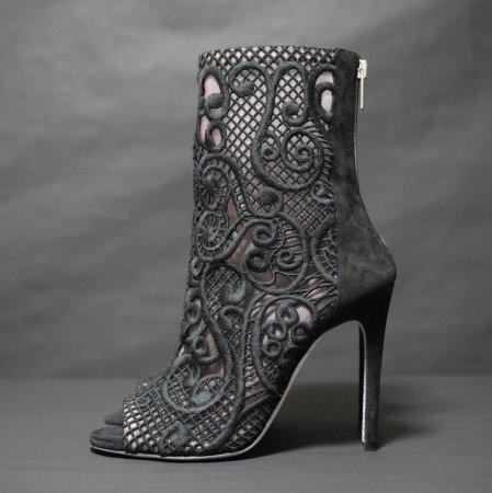<img class='new_mark_img1' src='https://img.shop-pro.jp/img/new/icons50.gif' style='border:none;display:inline;margin:0px;padding:0px;width:auto;' />RENE CAOVILLA LACE OPEN TOE BOOTEE