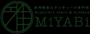 多肉植物とアンティーク専門店 MiYABi (雅)