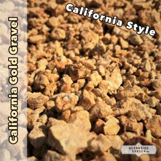 [1t]カリフォルニア ゴールド(甲賀砂利)|Sサイズ (直径1cm程度) Mサイズ(直径2cm程度)の商品画像