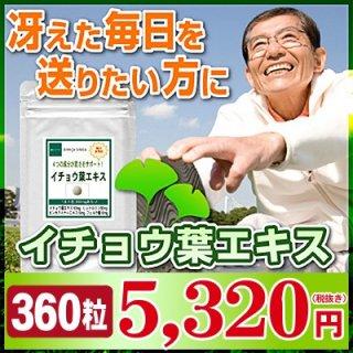 イチョウ葉エキス お徳用360粒(約6ヶ月分)