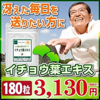 イチョウ葉エキス お徳用180粒(約3ヶ月分)