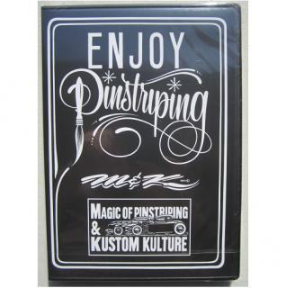 ENJOY Pinstriping(MAKOTOのピンストライプHOW TO DVD)