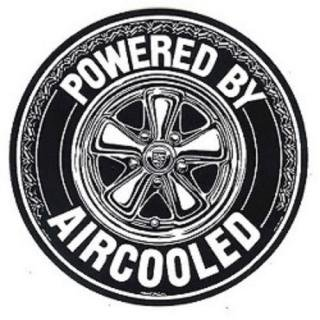 POWERED BY AIRCOOLED ステッカー