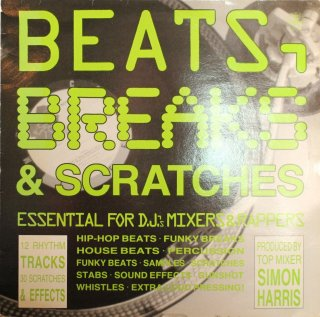 SIMON HARRIS / BEATS,BREAKS&SCRATCHES
