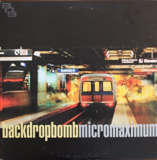 BACK DROP BOMB / MICROMAXIMUM (USED 2LP)