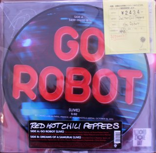 RED HOT CHILI PEPPERS / GO ROBOT (新品12INCH)