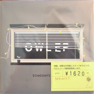 Someday's Gone  / OWL EP (新品7INCH)