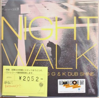 Dj Yas feat. Craig G & K Dub Shine  / NIGHT WALK (新品7INCH)