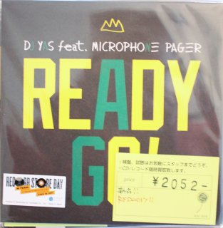 DJ Yas feat. Microphone Pager(Muro&TwiGy)  / READY GO! (新品7INCH)