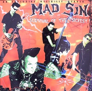 MAD SIN / SURVIVAL OF THE SICKEST (USED LP)