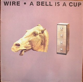 WIRE / A BELL IS A CUP (USED LP)