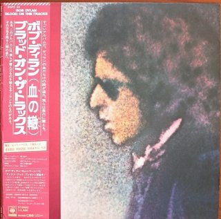 BOB DYLAN / BLOOD ON THE TRACKS (USED LP)
