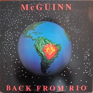 ROGER McGUINN(THE BYRDS) / BACK FROM RIO (USED LP)