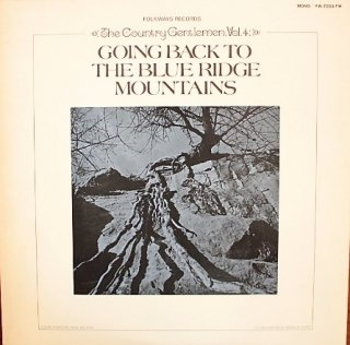 THE COUNTRY GENTLEMAN / GOING BACK TO THE BLUE RIDGE MOUNTAINS (USED LP)
