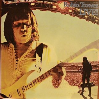 ROBIN TROWER / LIVE! (USED LP)