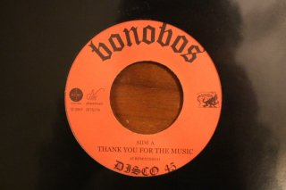 bonobos / thank you for the music (新品7inch)