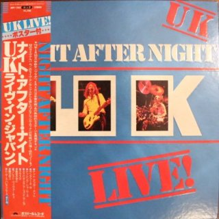 UK / NIGHT AFTER NIGHT LIVE IN JAPAN (USED LP)