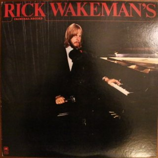 RICK WAKEMAN / CRIMINAL RECORD (USED LP)