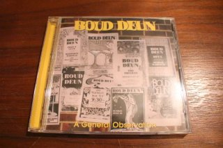BOUD DEUN / A General Observation (USED CD)