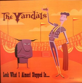 THE VANDALS / LOOK WHAT I ALMOST STEPPED IN... (USED LP)
