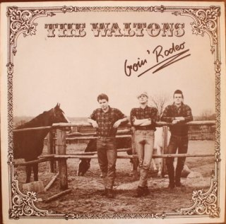 THE WOLTONS / GOIN' RODEO (USED LP)