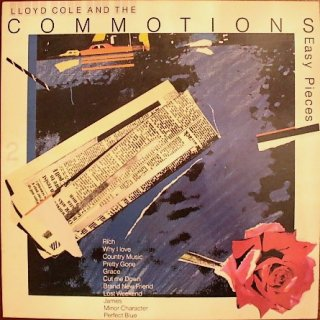 LLOYD COLE AND THE COMMOTIONS / RATTLESNAKES (USED LP)
